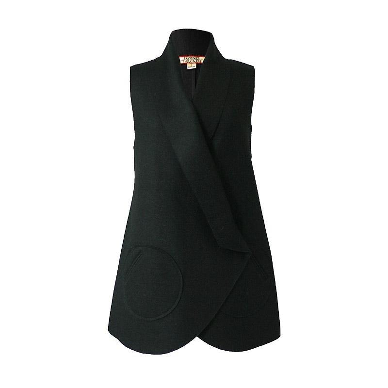 Odessa Black Vest (M)