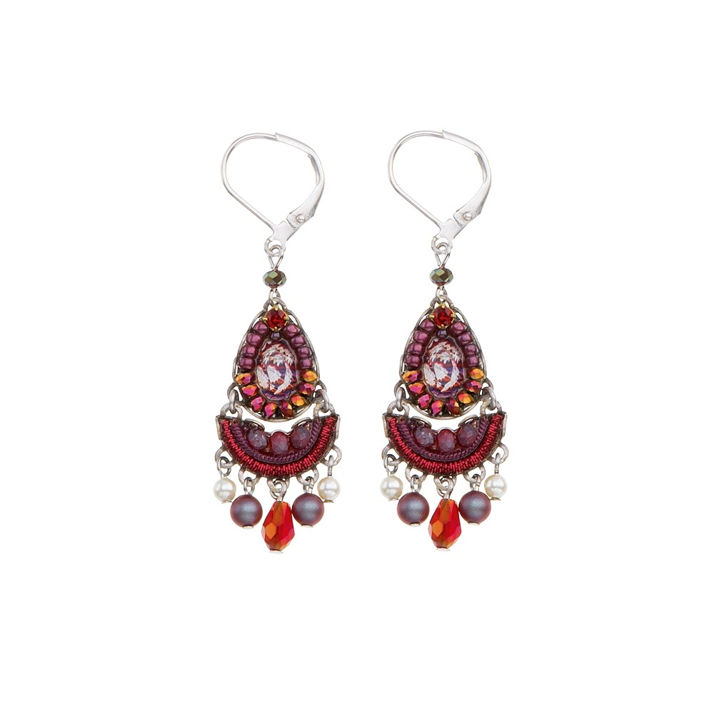 Ruby Tuesday Iowa Earrings