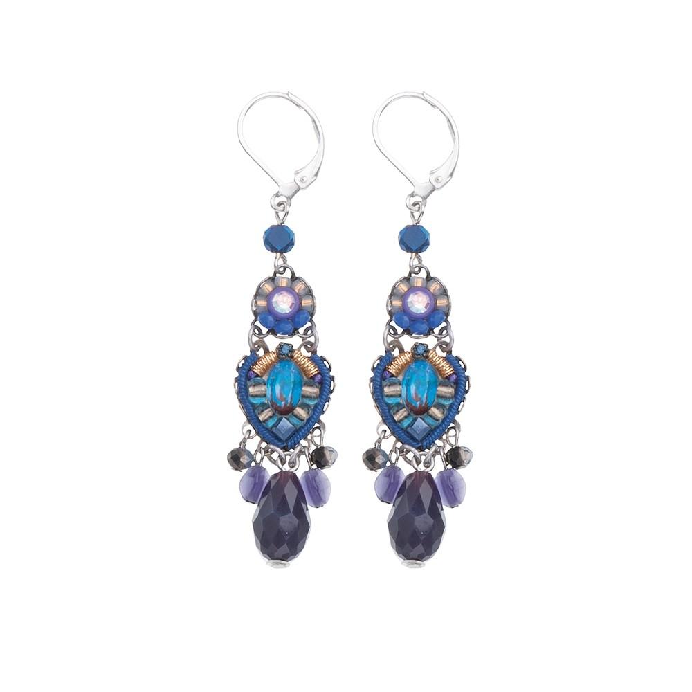 Sapphire Rain Savory Earrings