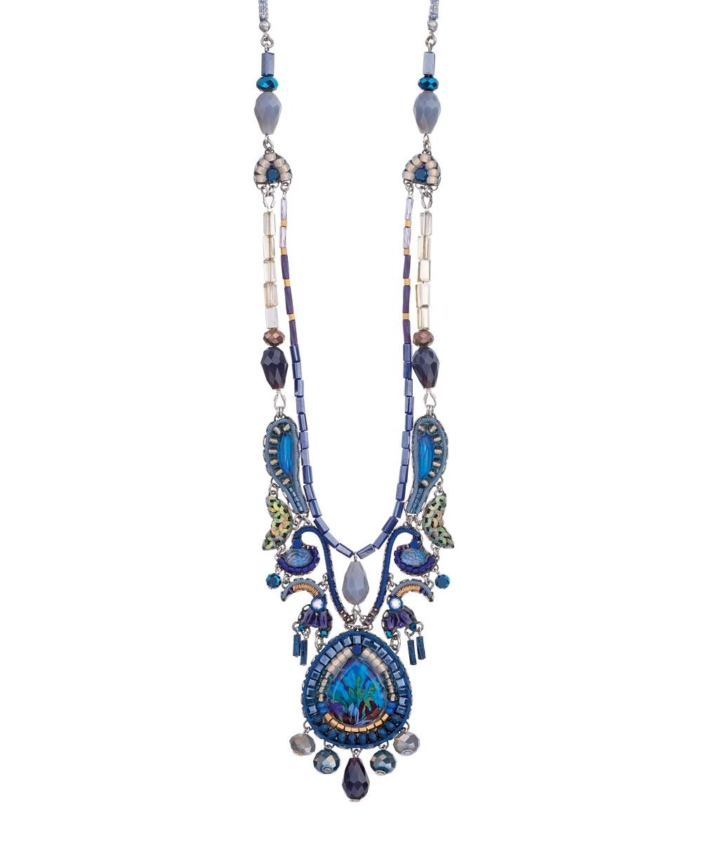 Sapphire Rain Canonbury Necklace