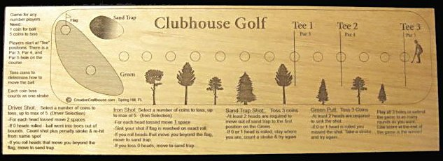 Clubhouse Golf Game