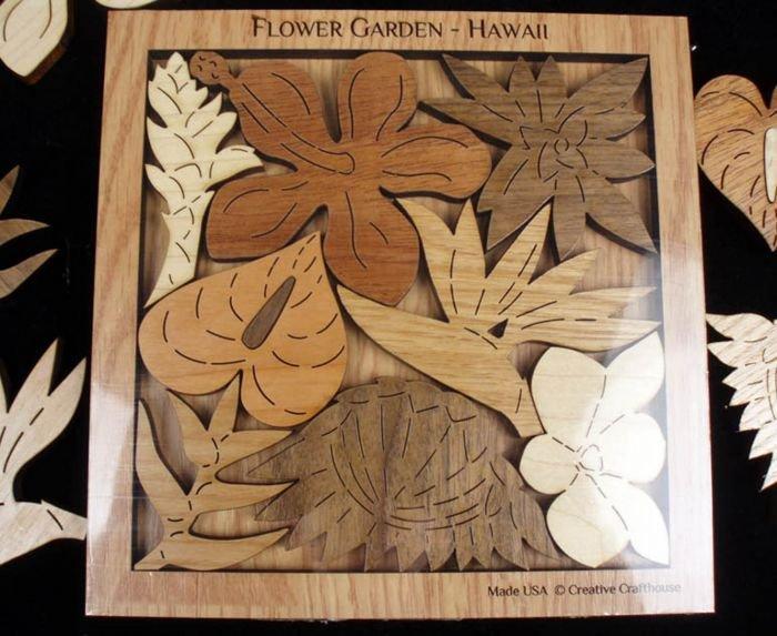 Hawaii Flower Garden Puzzle
