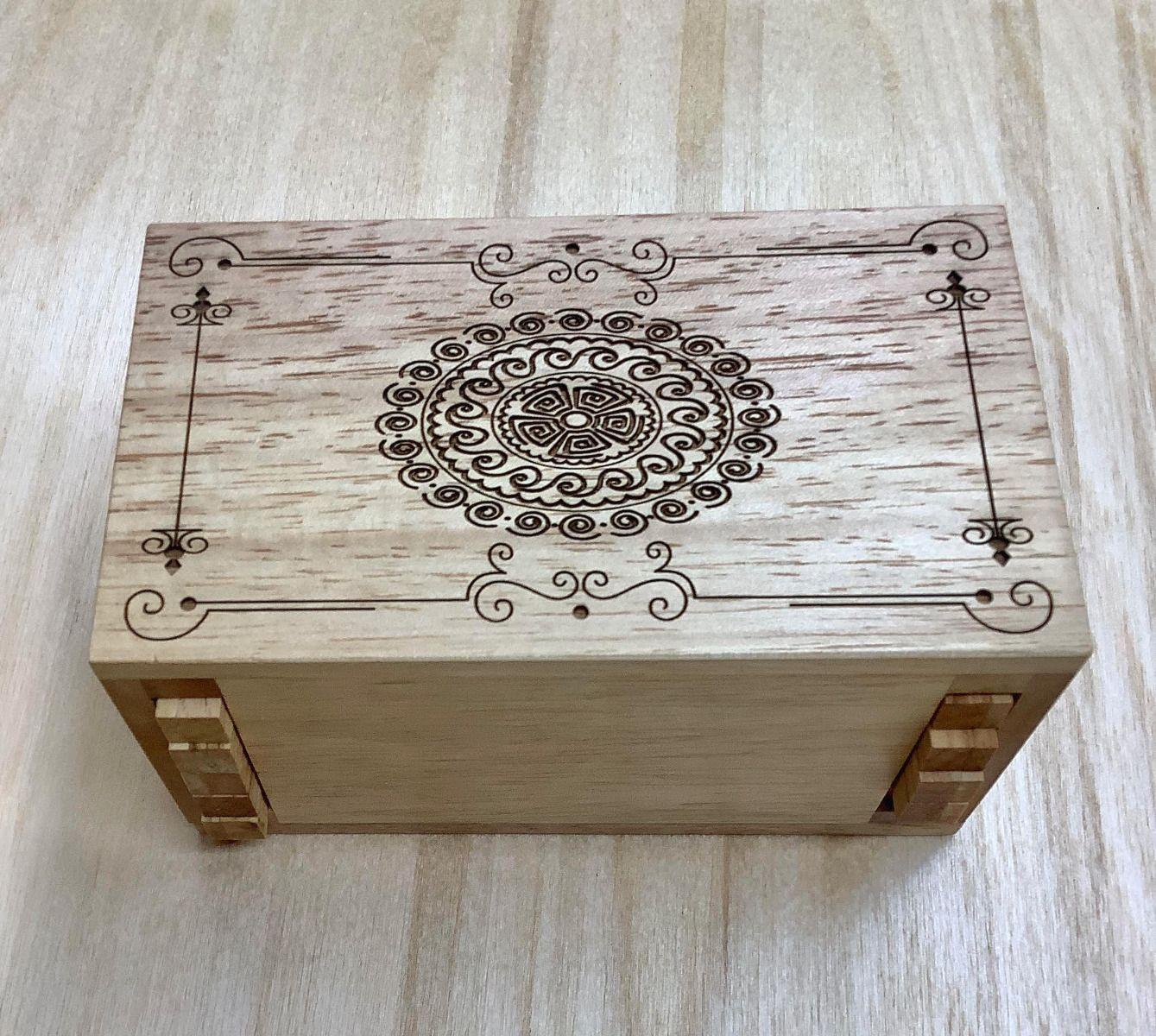 Secret Lock Box w/ Mandala Design