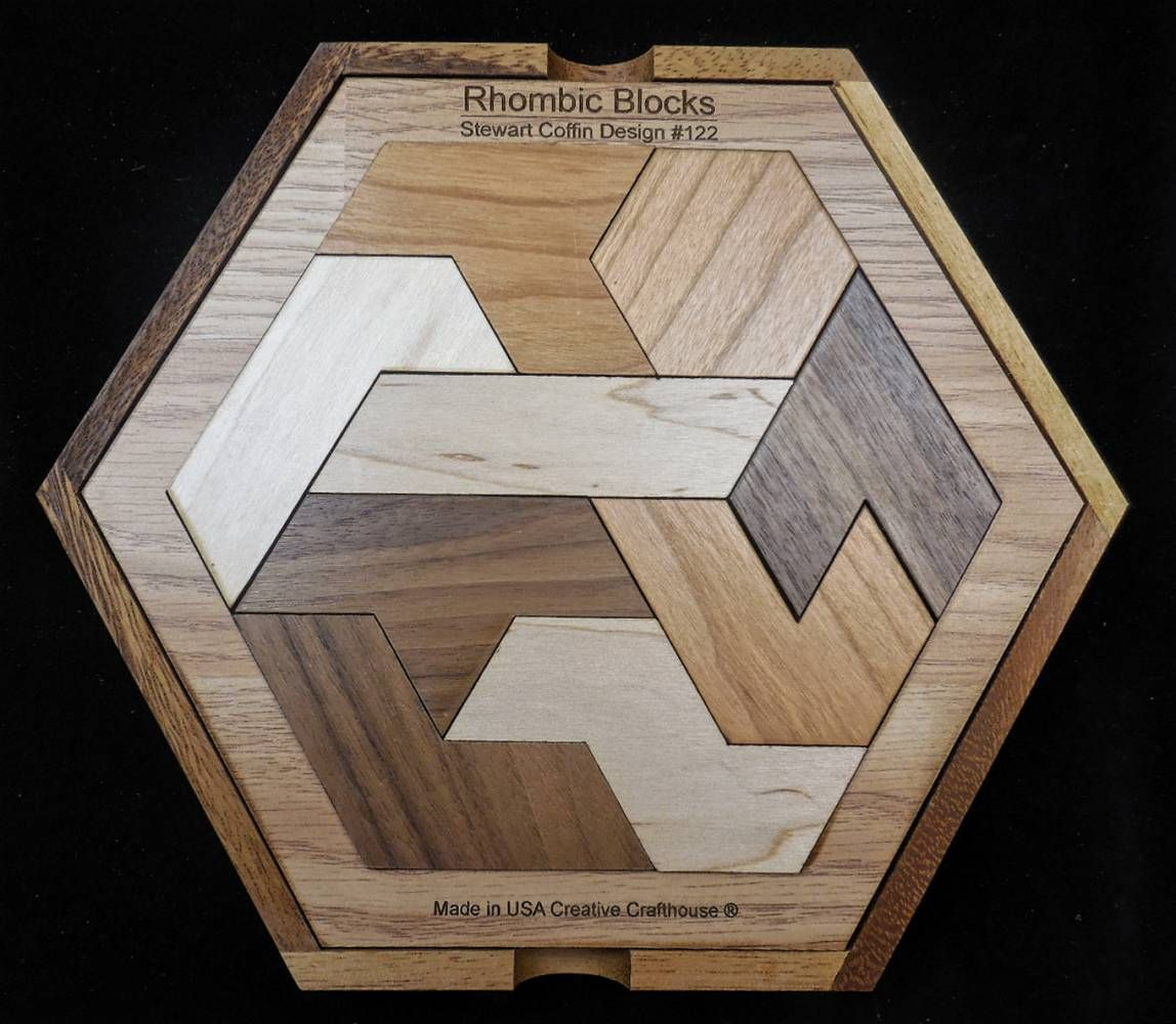 Rhombic Blocks w/ Cover