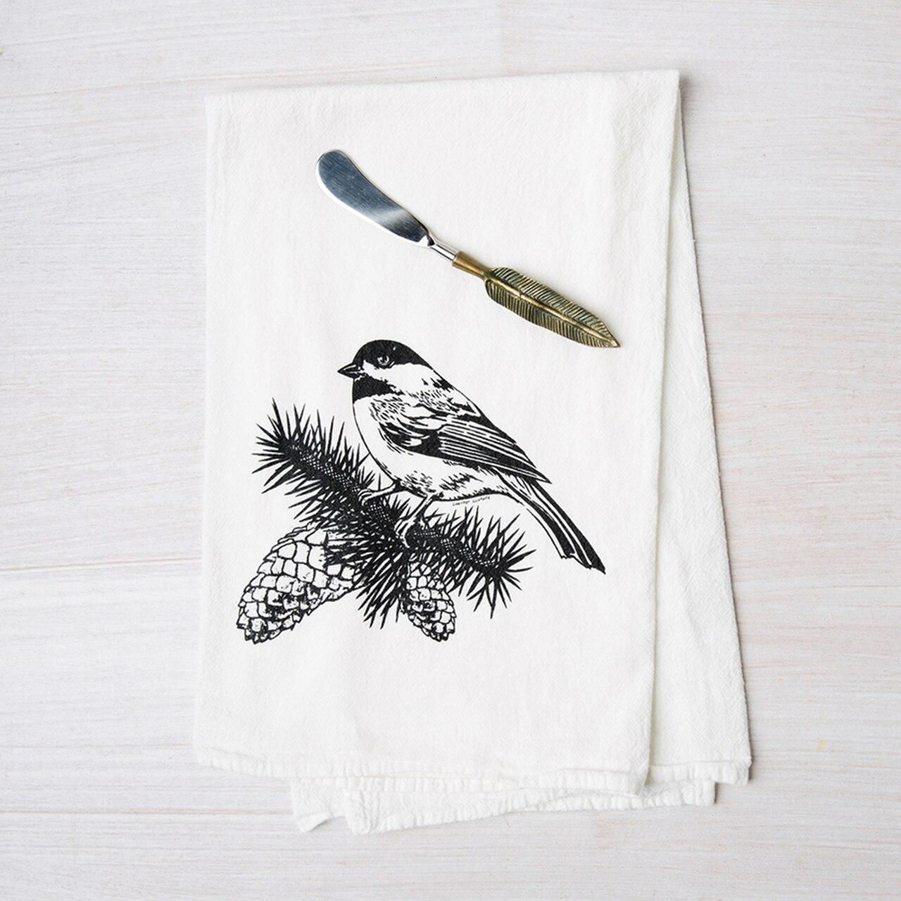 Chickadee Towel