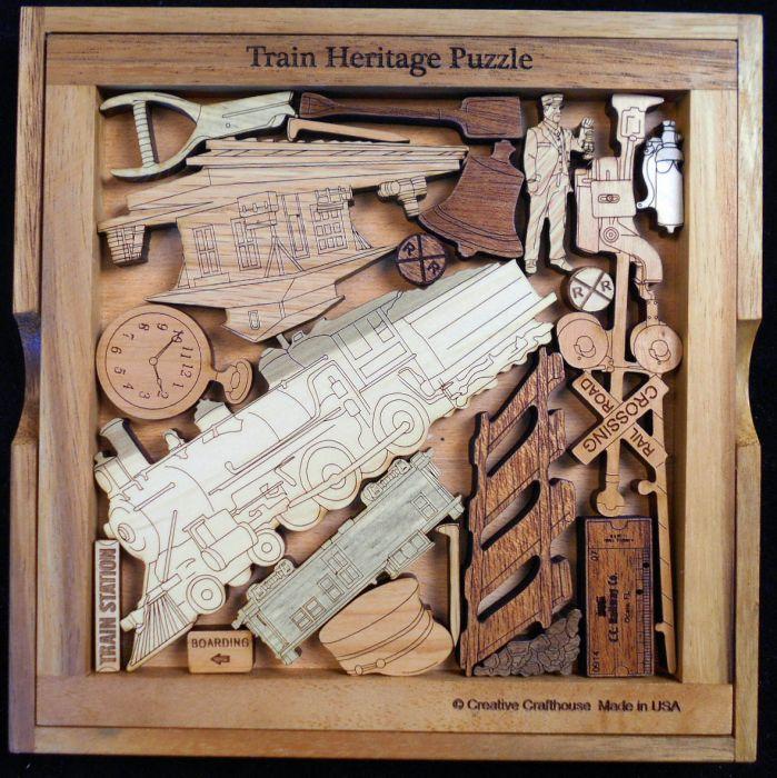 Train Heritage puzzle
