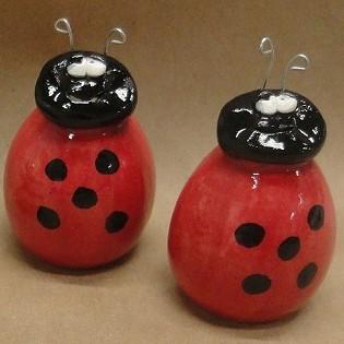 Ladybug Salt & Pepper Set