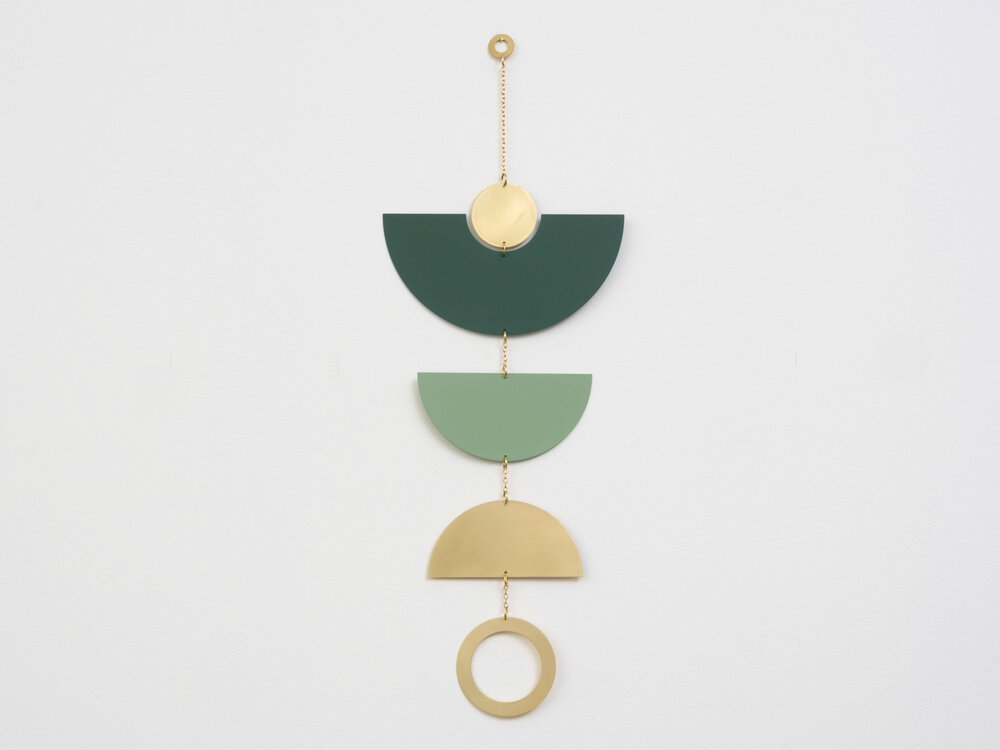 Frond Green Wall Hanging/Mobile