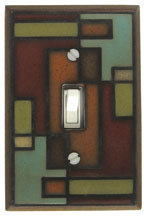 Rectangles Switchplate