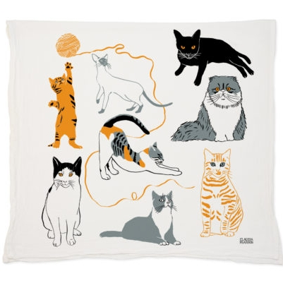 Cat Kitchen Towel