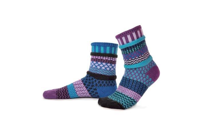 Raspberry Adult Crew Socks
