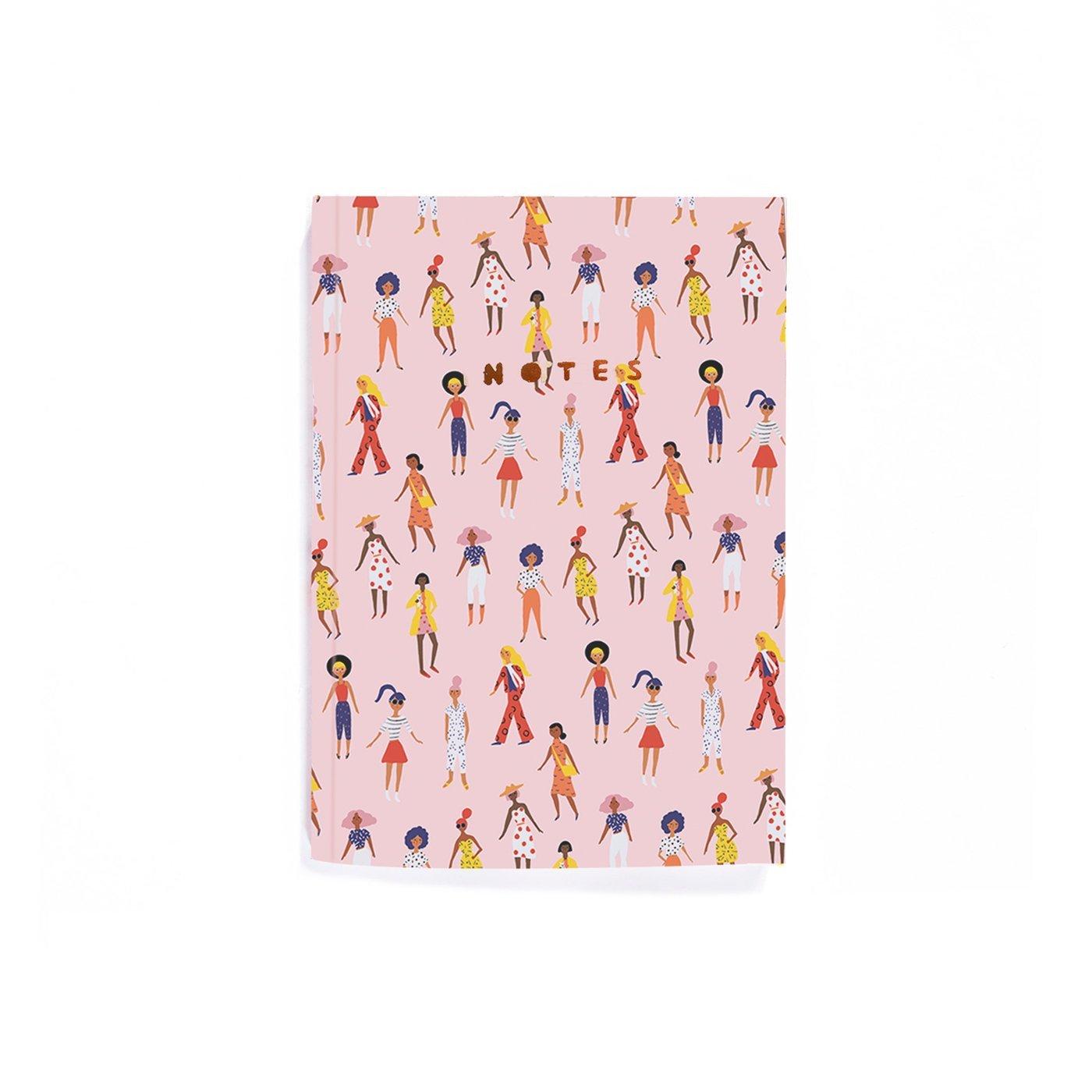 Walking Ladies Notebook