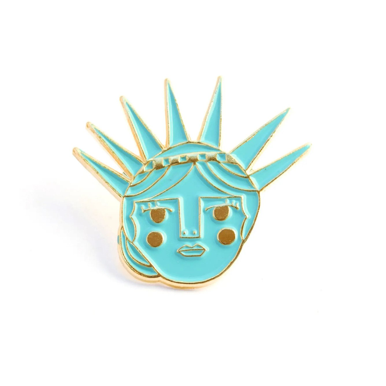 Lady Liberty Enamel Pin