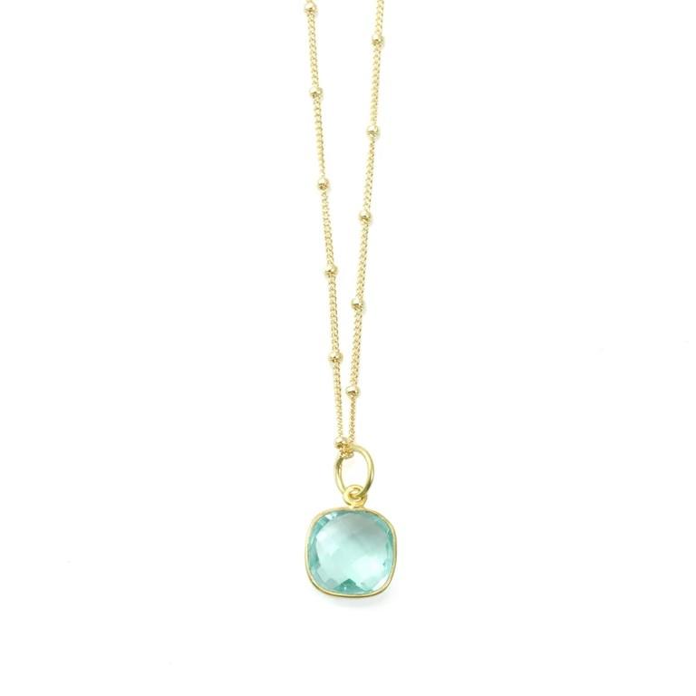 Hydro Quartz Vermeil Necklace