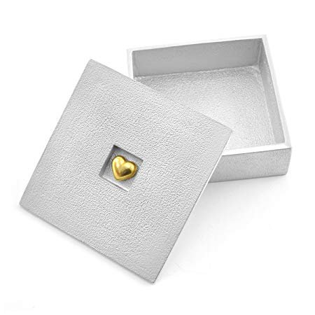 Golden Heart Treasure Box