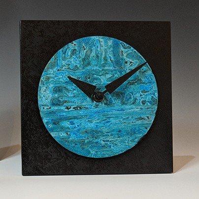 Circle Square Desk Clock