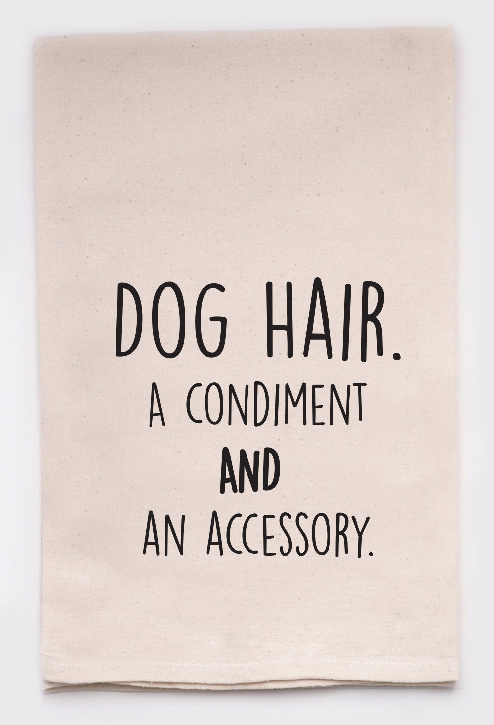 Dog Hair Tea Towel