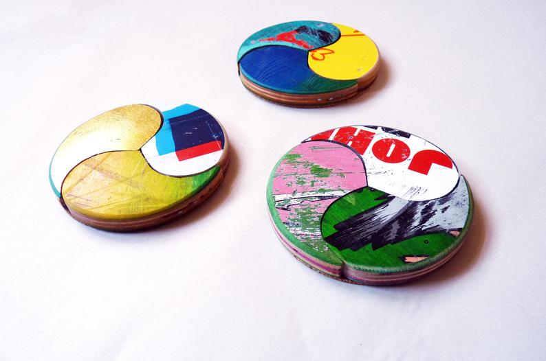 Skateboard Coaster Set/3