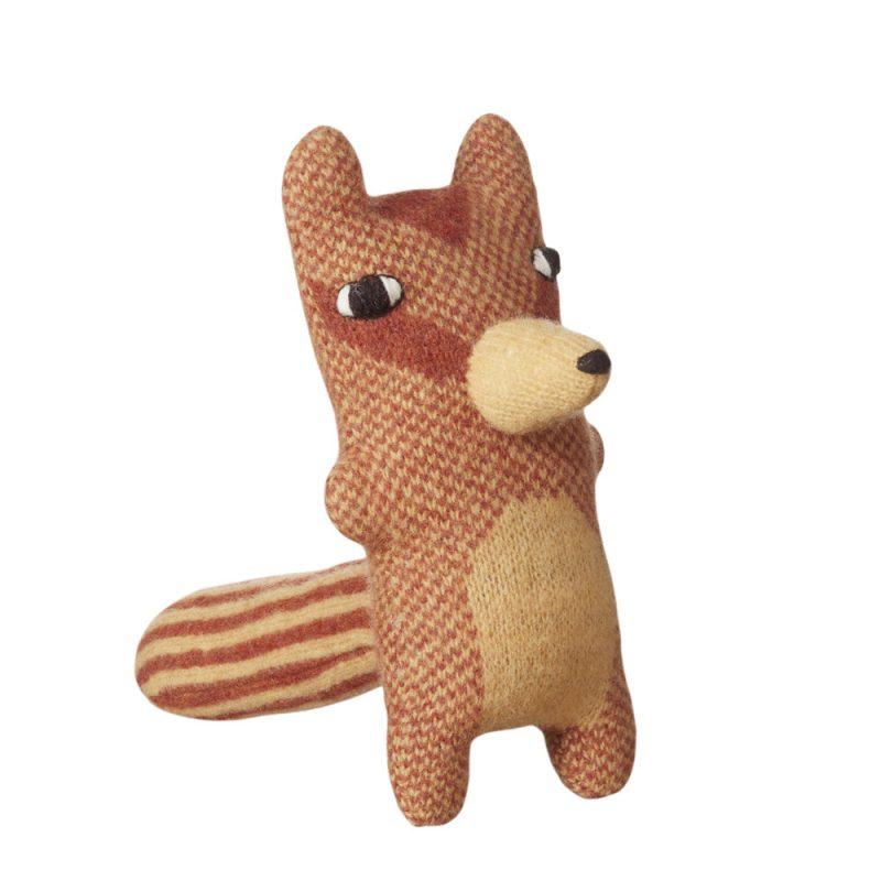 Chuck Chipmunk Knit Doll