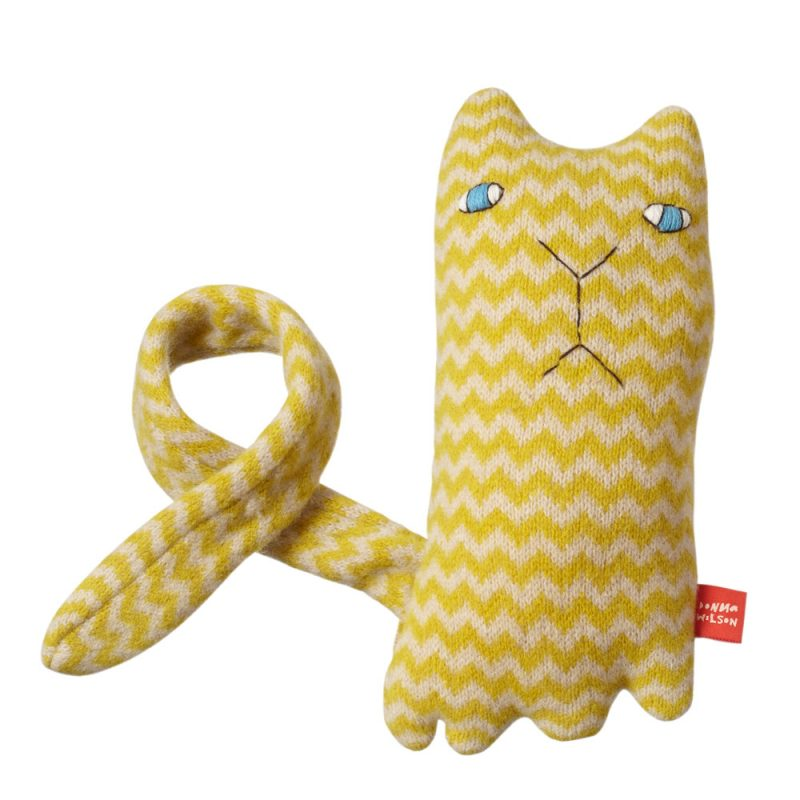 Ziggy Cat Knit Doll