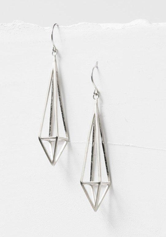 Prisma Diamond SS Earrings