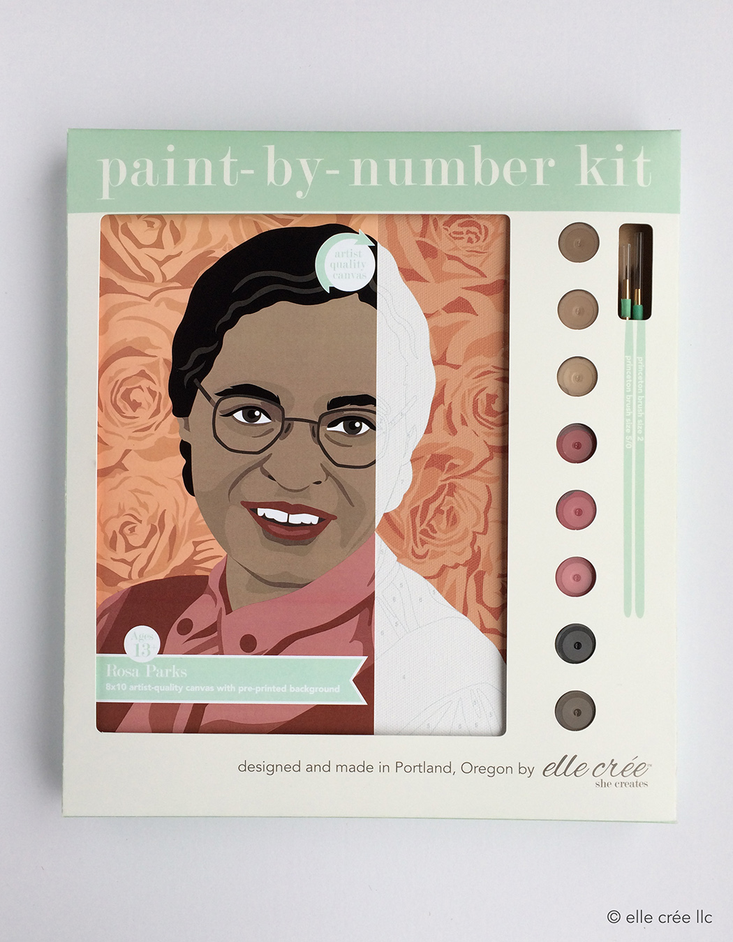 Rosa Parks Paint-By-Number Kit