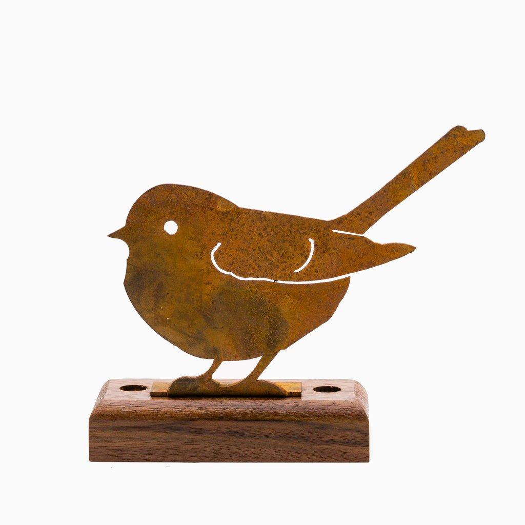 Fat Chickadee Rusty Bird