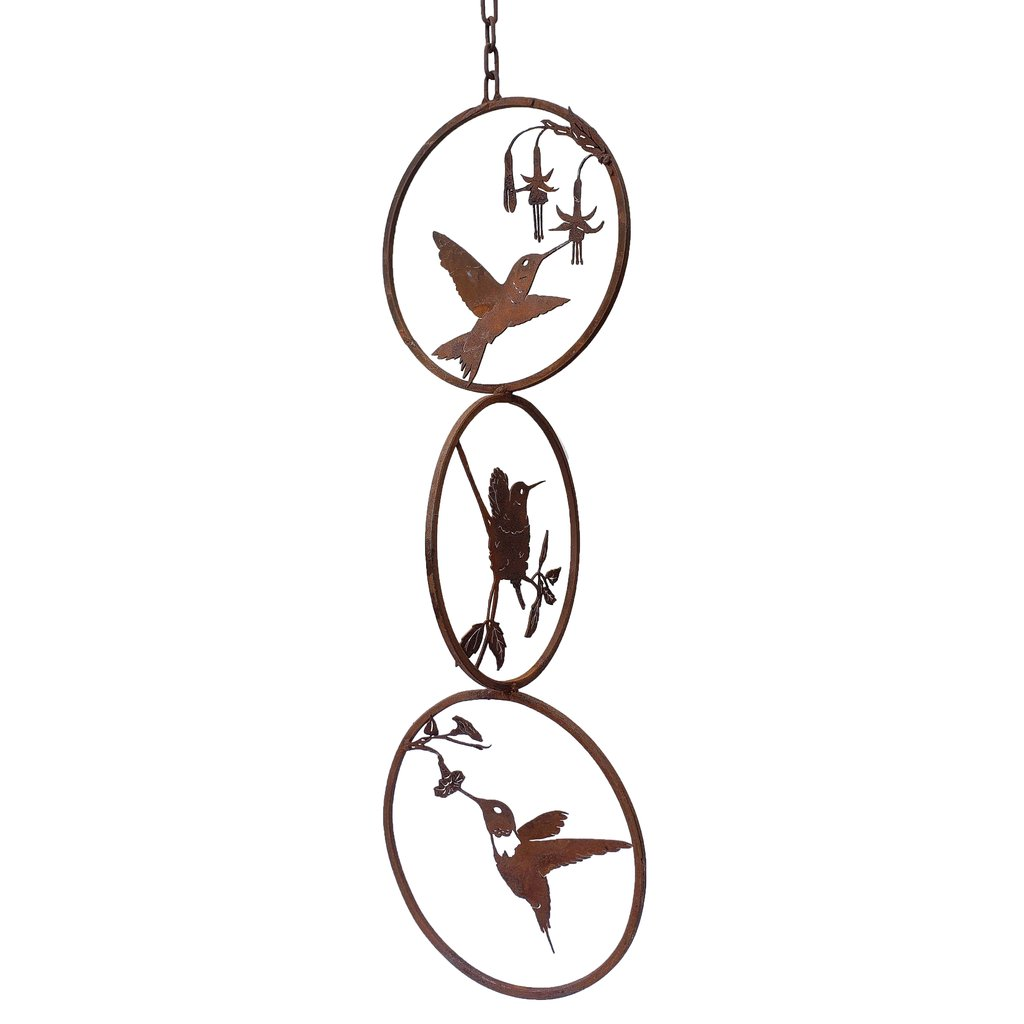 Hummingbird Tri Ring Mobile