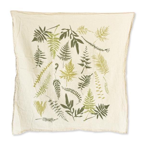 Endangered Ferns Towel