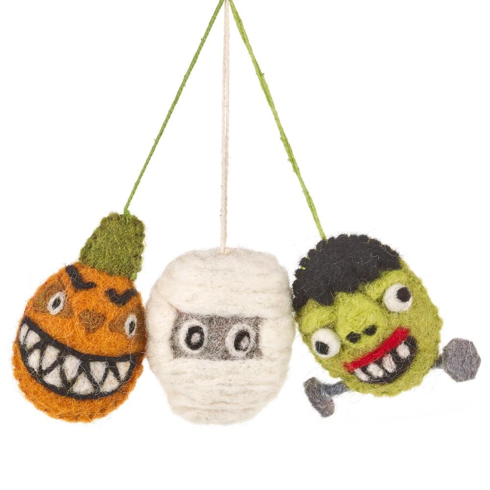 Felt Spooky Family Set/3