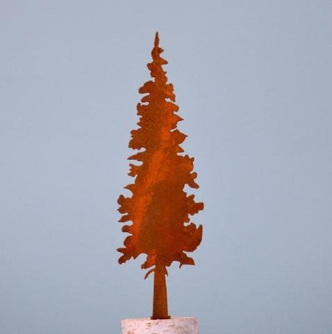 Rusty Fir Tree - Small
