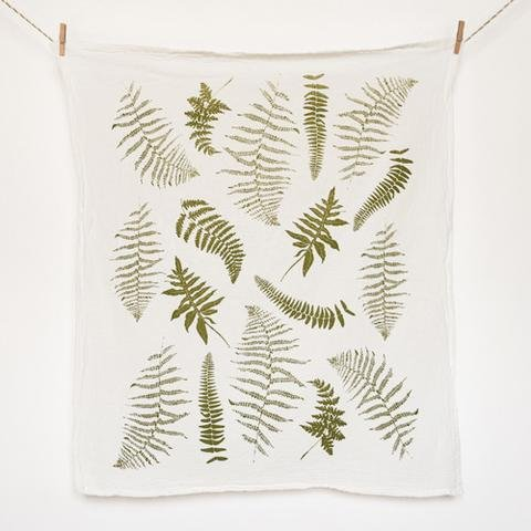 Fronds Kitchen Towel