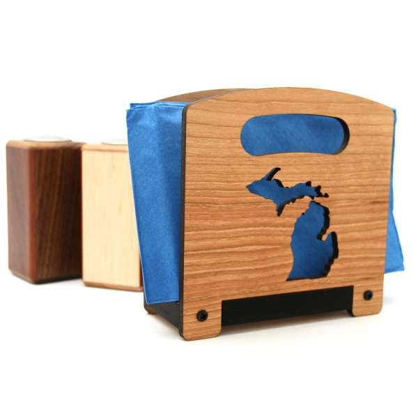 Michigan Napkin Holder