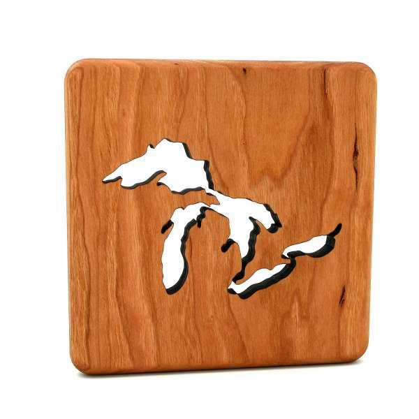 Great Lakes Wood Trivet