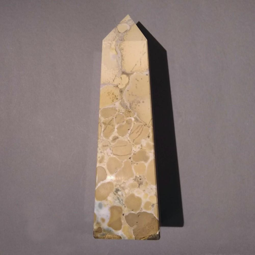 Cream Jasper Obelisk