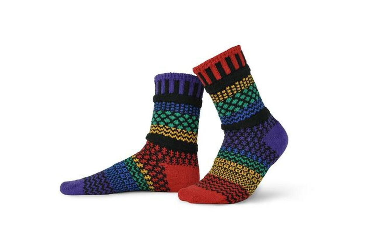 Gemstone Adult Crew Socks