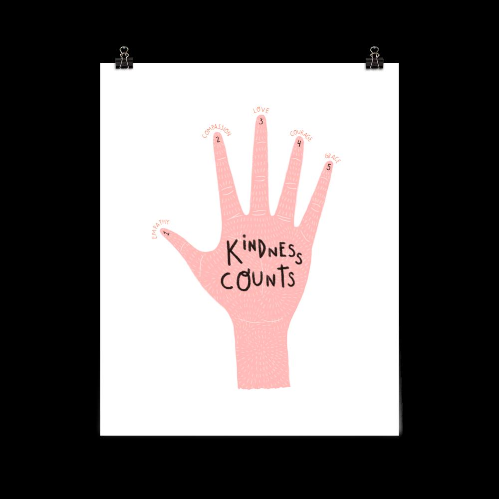 Kindness Counts 8x10 Art Print