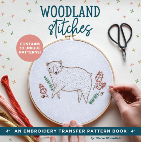 Woodland Stitches Embroidery Book