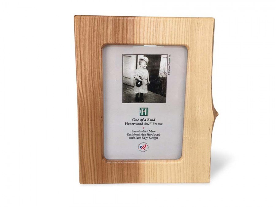 Live Edge Ash Photo Frame