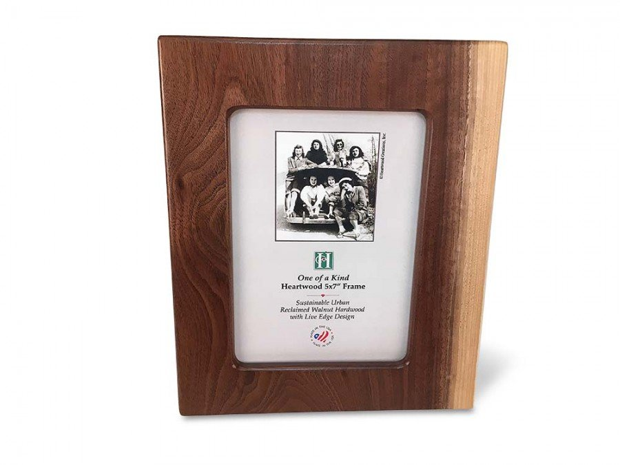 Live Edge Walnut Photo Frame