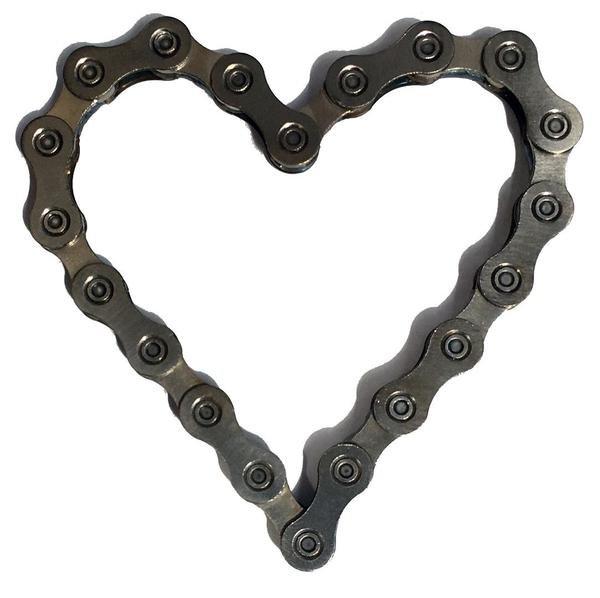 Bike Chain Heart
