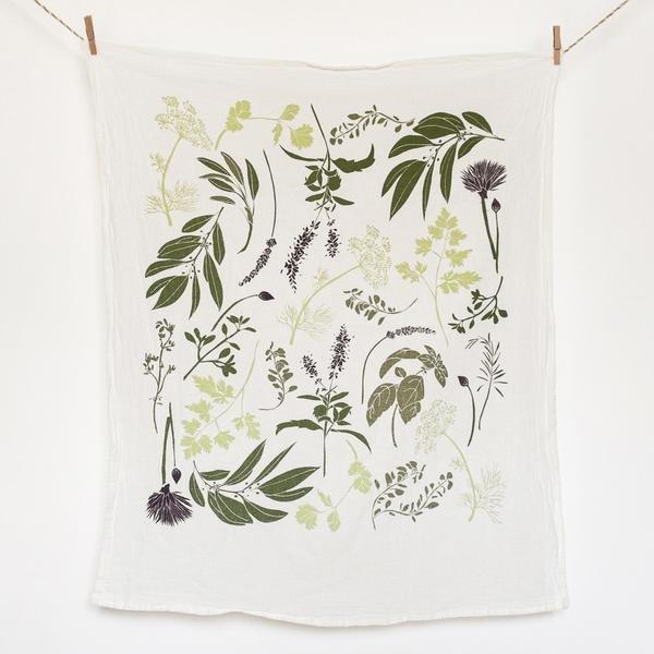 Herb Garden Towel