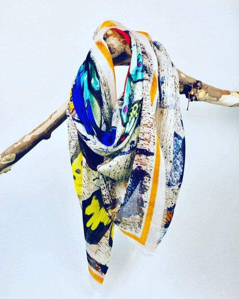 Papillon Silk/Modal Scarf