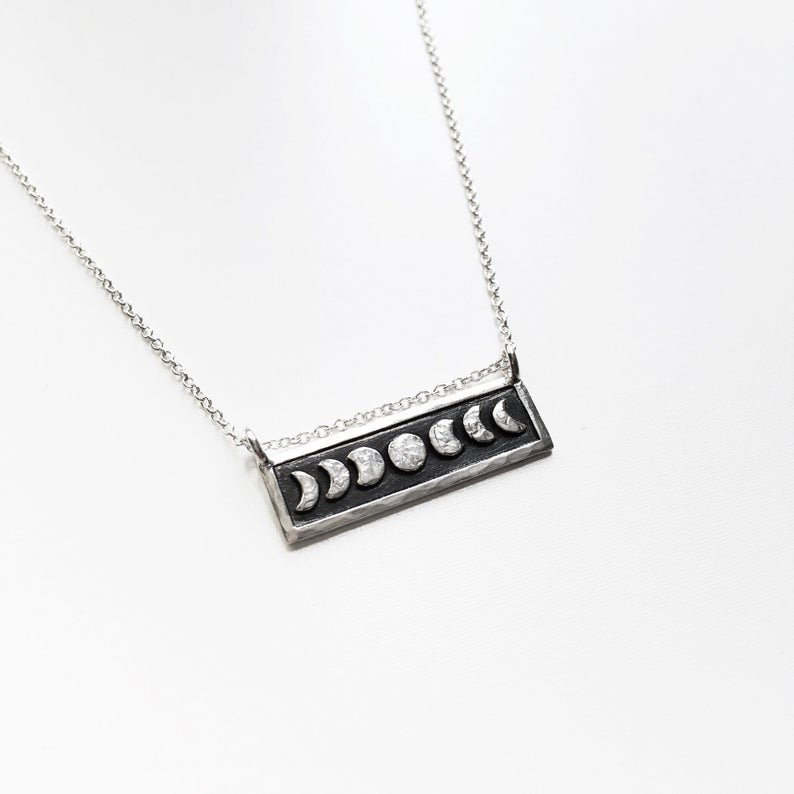 Mini Moon Phase Necklace