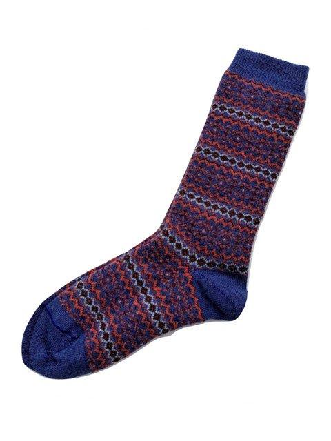 Alhambra Striped Alpaca Socks