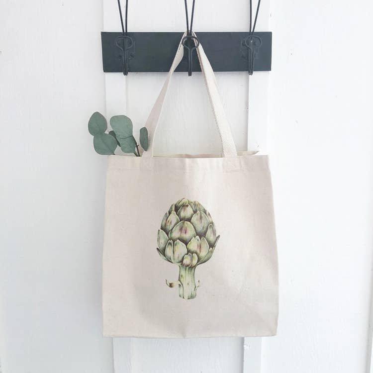 Artichoke Canvas Bag