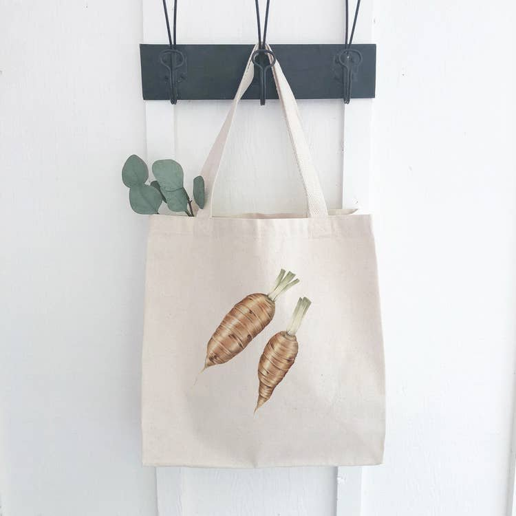 Carrot Canvas Bag