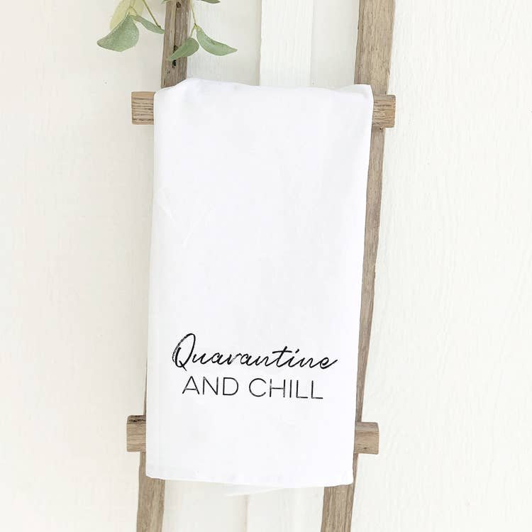 Quarantine and Chill Towel