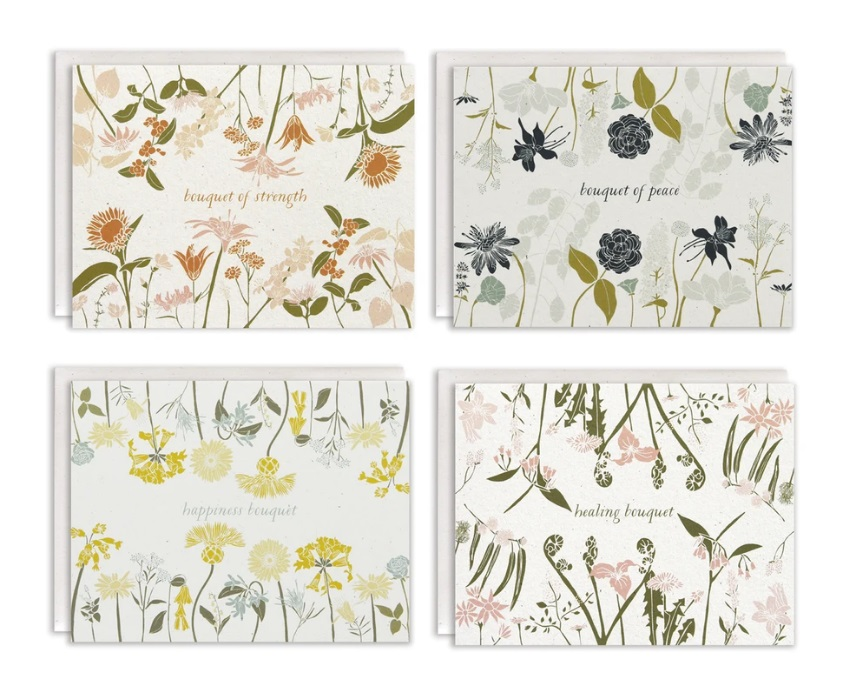 Language of Flowers Boxed Card Set (Empowerment)