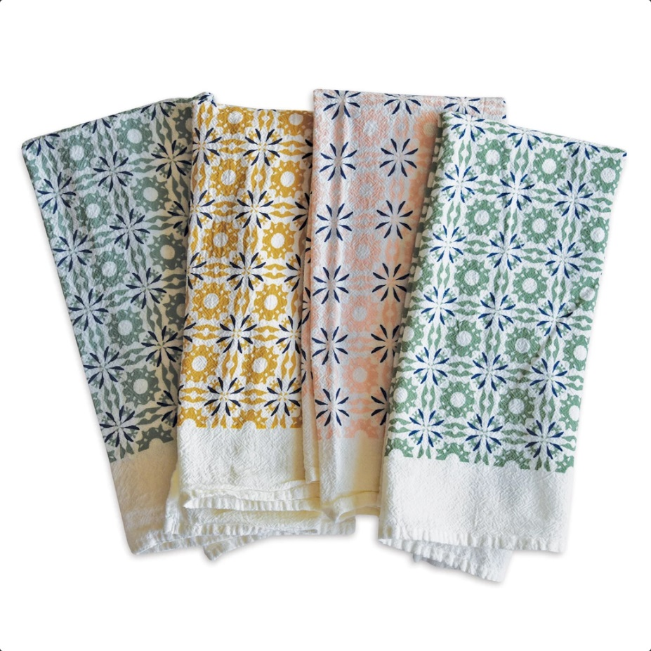 4 Chicory Napkins mixed colors